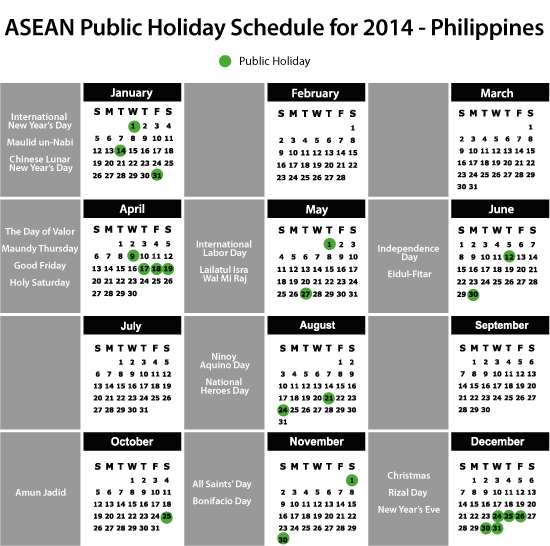 Palace lists down 2019 holidays » Manila Bulletin News