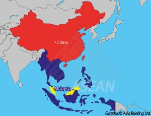 malaysia and china map The Cost Of Business In Malaysia Compared With China Asean Business News malaysia and china map