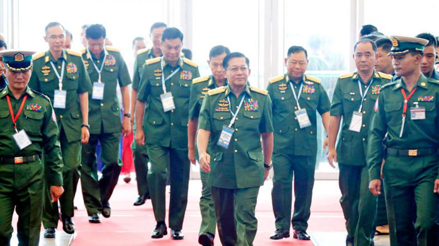 Myanmar-Coup--Government-Shake-Up-With-Military-Backed-Ministers-Now-In-Place,-But-Chief-Justices-and-Anti-Corruption-Personnel-Remain-